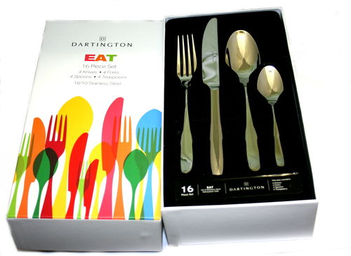 Dartington Eat 16 piece cutlery set