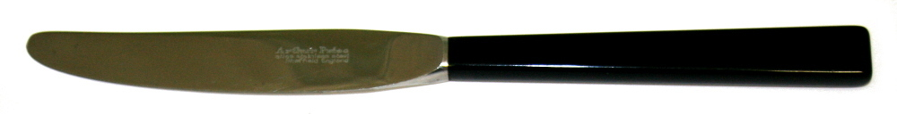 Arthur Price Camelot table knife (black handle)