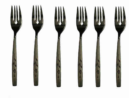 Oneida Capistrano set of 6 fish forks