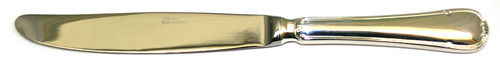 Sant' Andrea Donizetti (silver plated) table knife