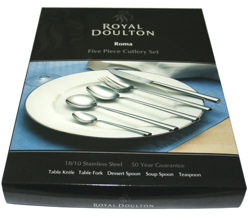Royal Doulton Roma 5 piece place setting